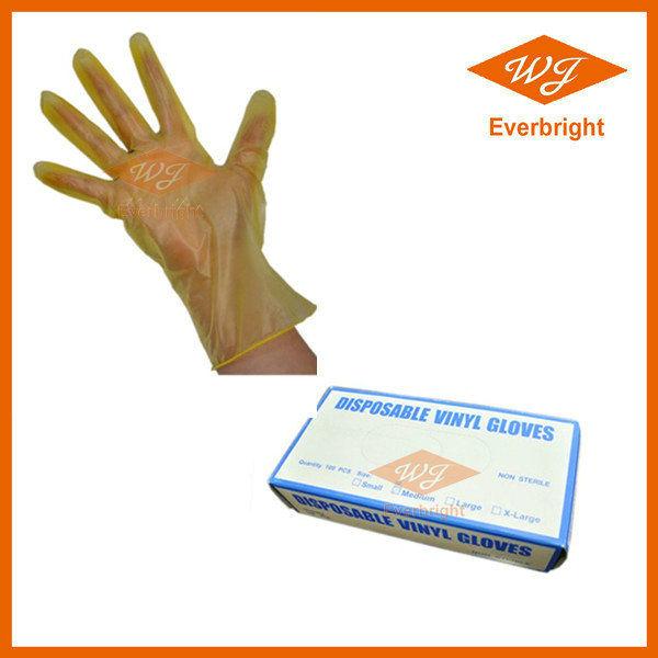 Vinyl Disposable Gloves Zhangjiagang Free Trade Zone